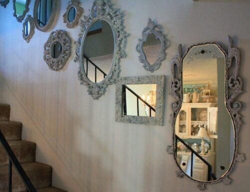 Зеркала в интерьере.